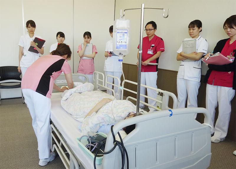 新人看護師フォローアップ研修の風景2