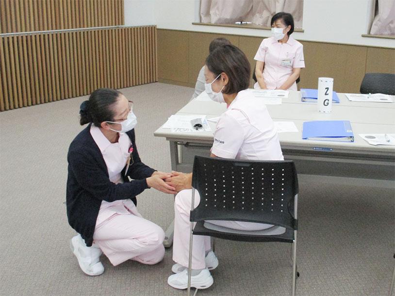 看護補助者研修の風景1