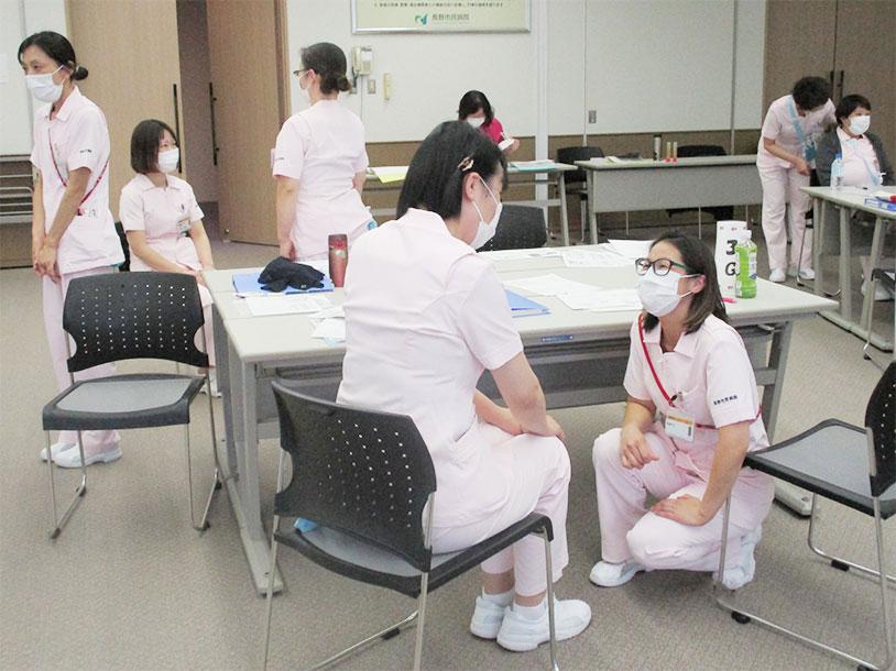 看護補助者研修の風景3