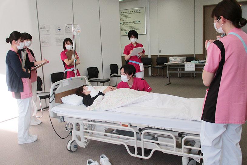 新人看護師研修④の風景2