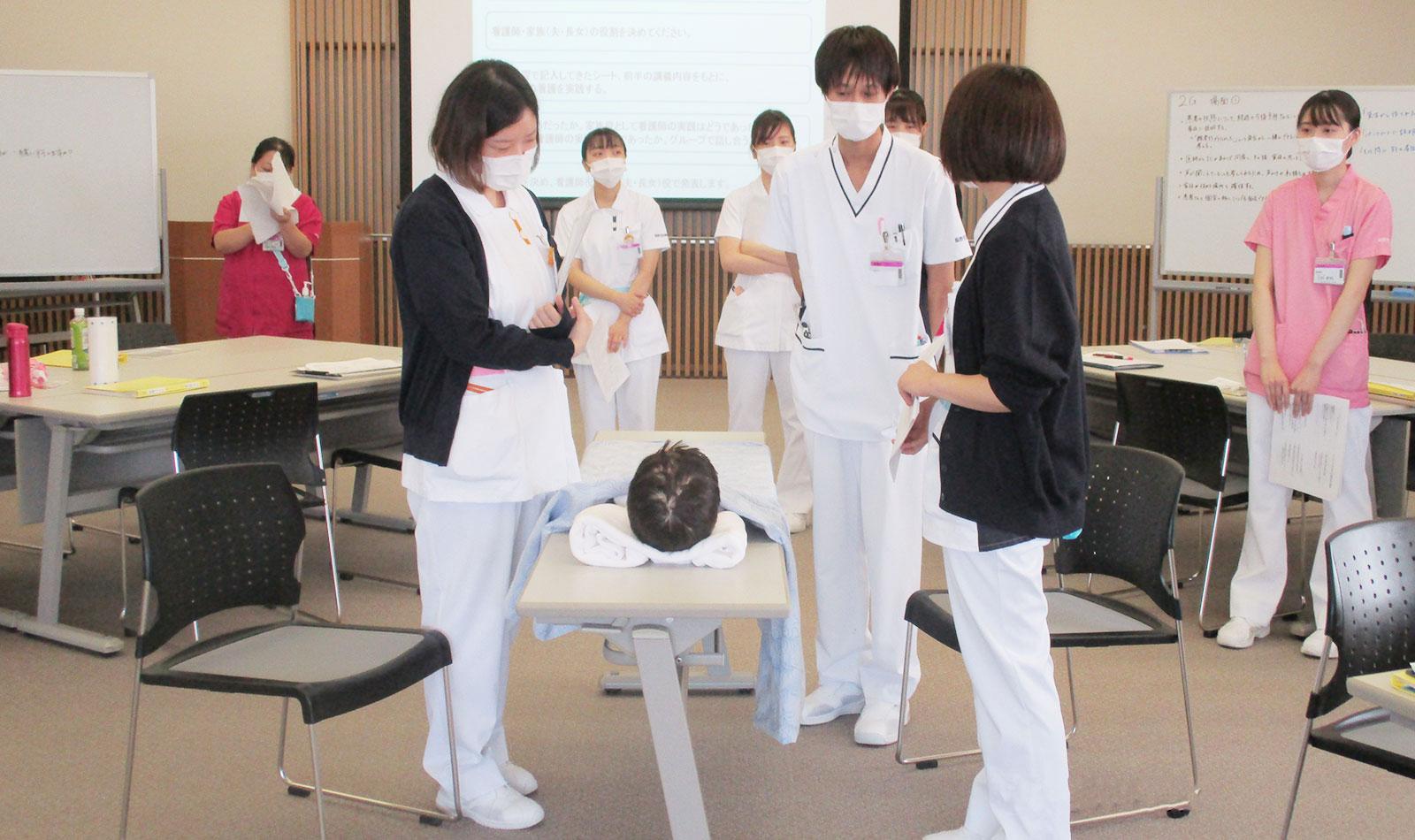 新人看護師研修⑤の風景3