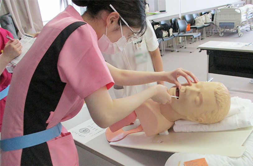 新人看護師スパイラル研修の風景2