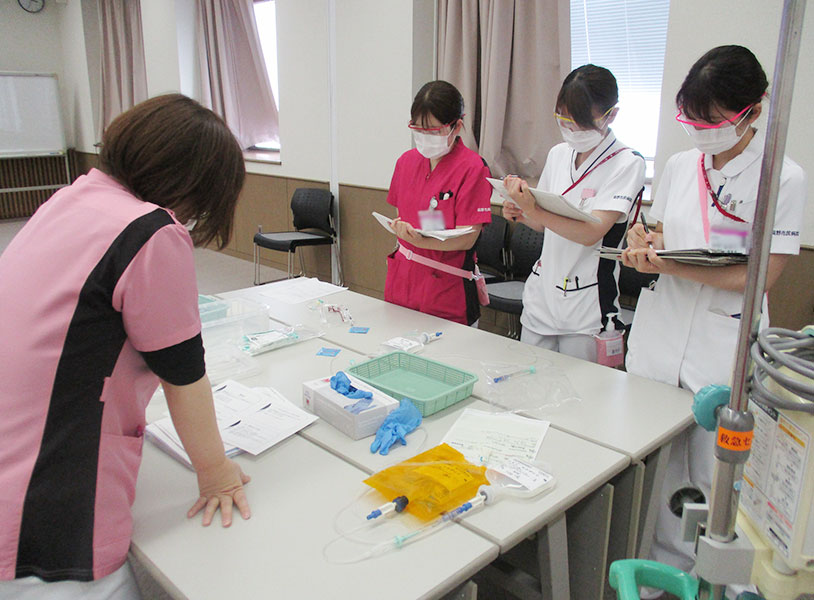 がん化学療法研修の風景2